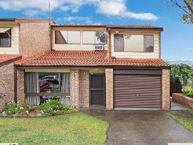 This three-bedroom villa in Cranebrook was snapped up in just 10 days. Picture: RP Data Core Logic