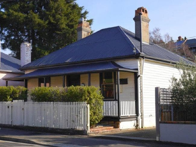 In North Hobart, this cottage sold for $460,000 in just two days. Picture: realestate.com.au